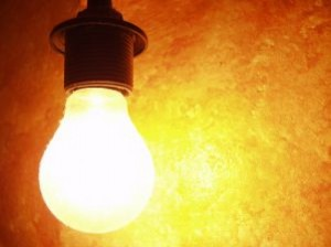 bulb-against-orange-background_247998