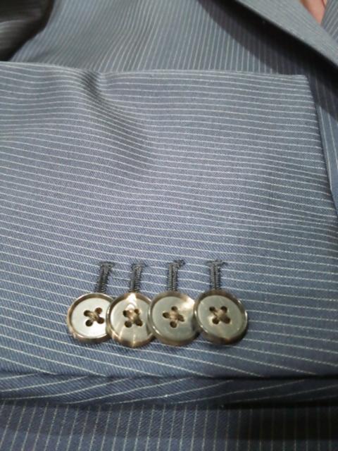 スーツのボタンの話