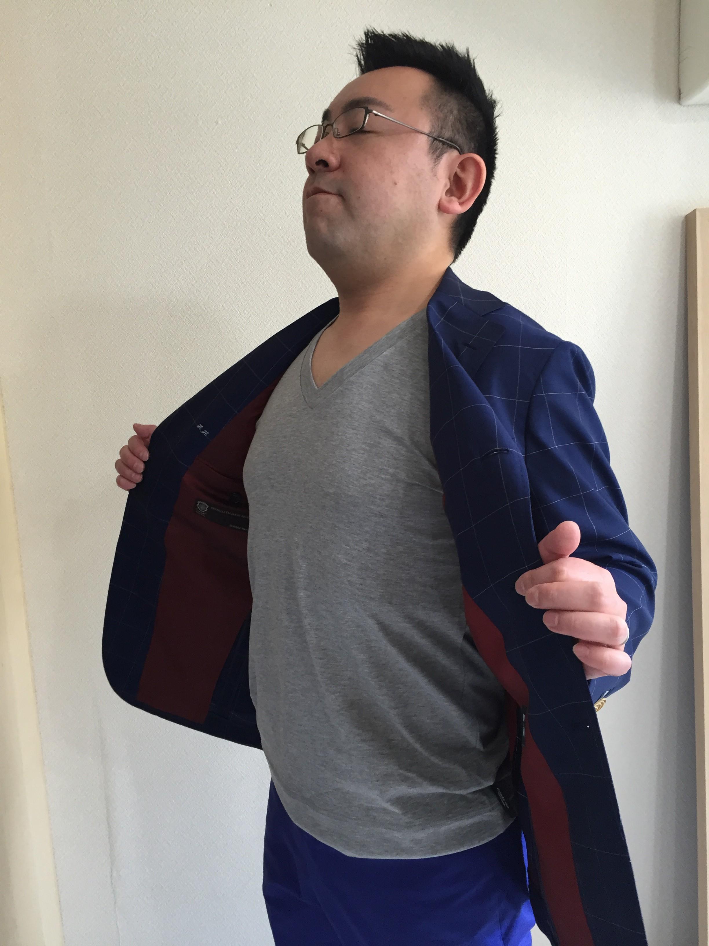 スーツって本当にいいな、欲しいなって思って買ってます?
