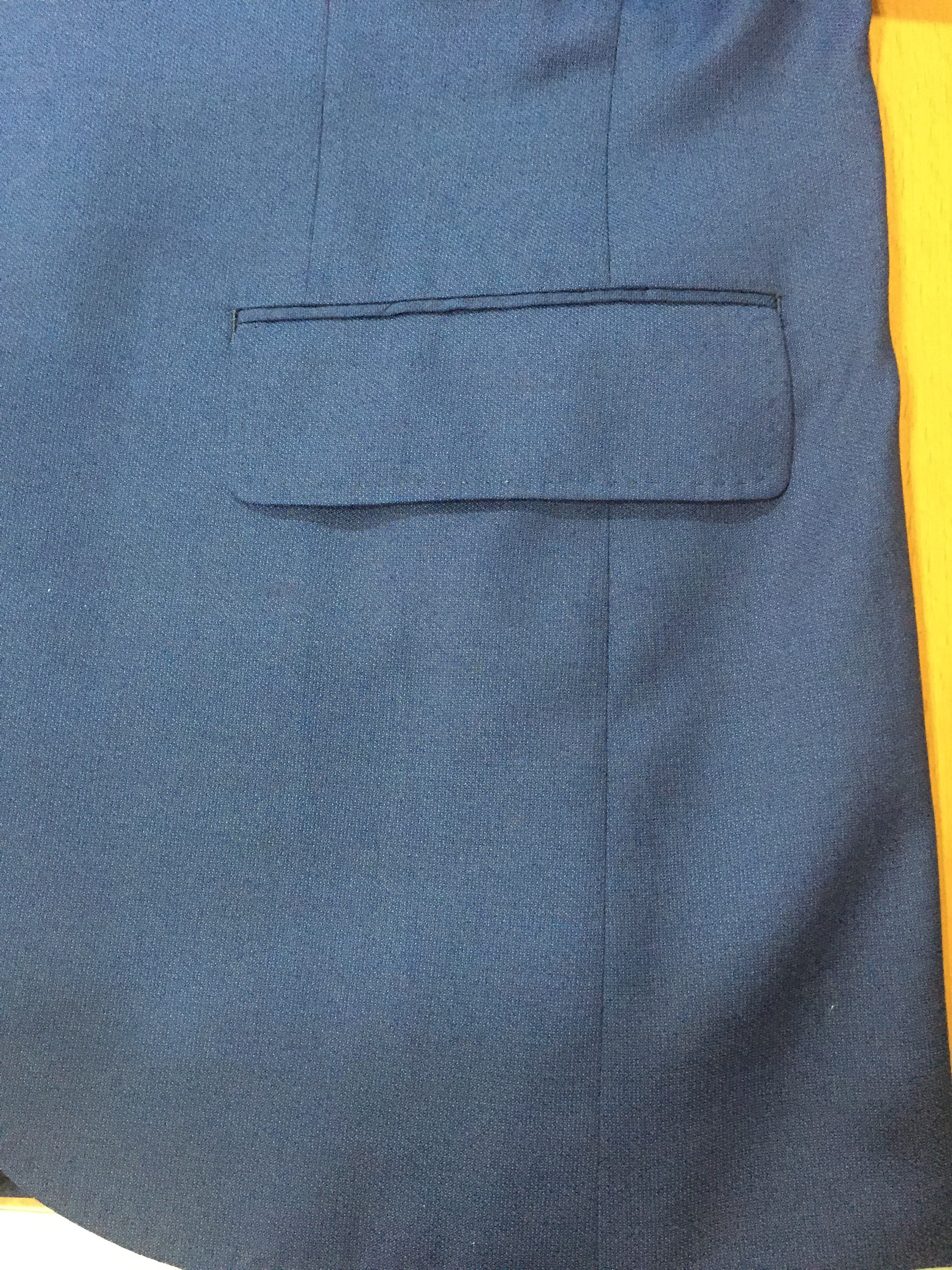 スーツのパーツを覚えておきましょう Vol3