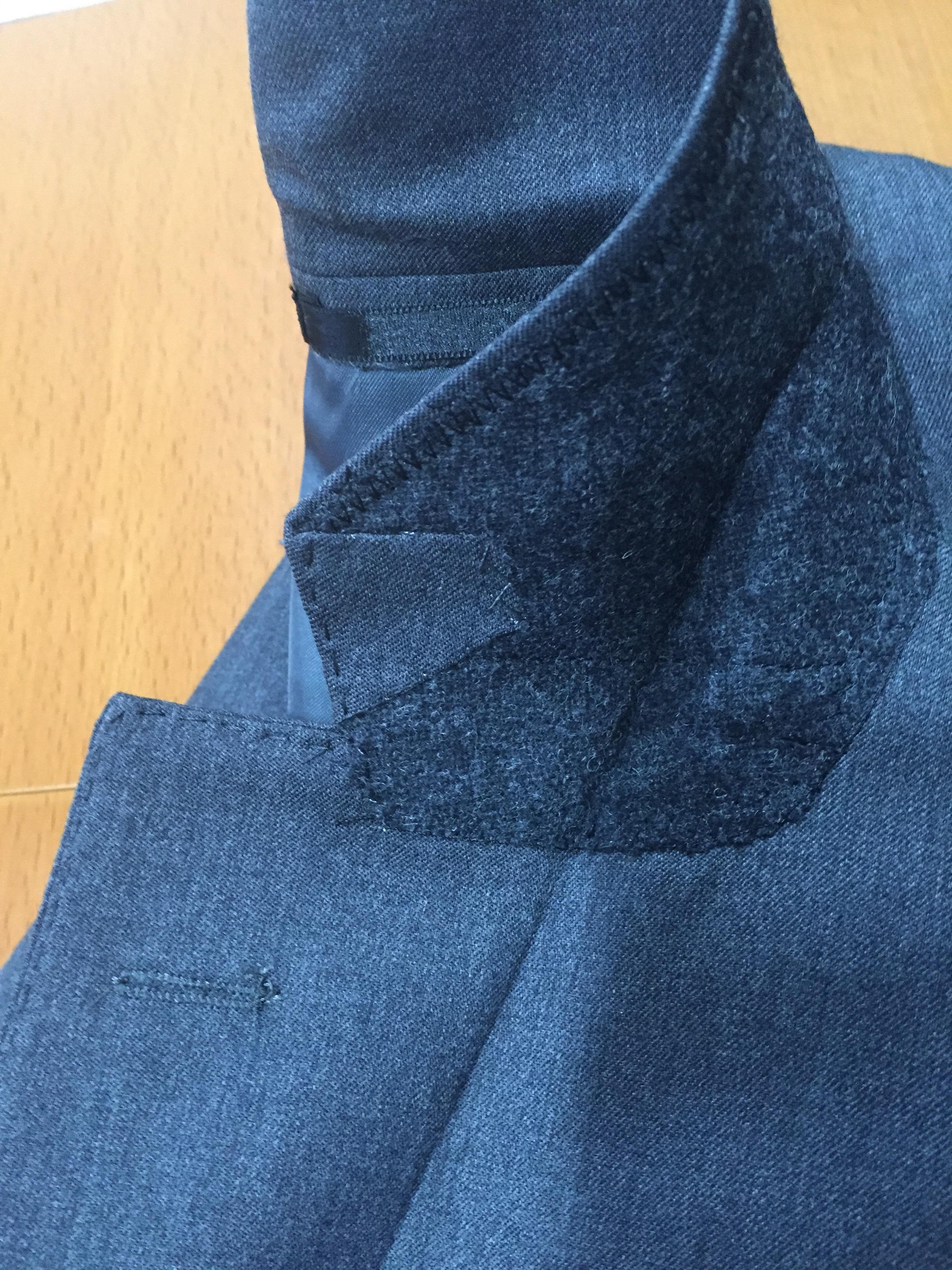 スーツのパーツを覚えておきましょう VOL5