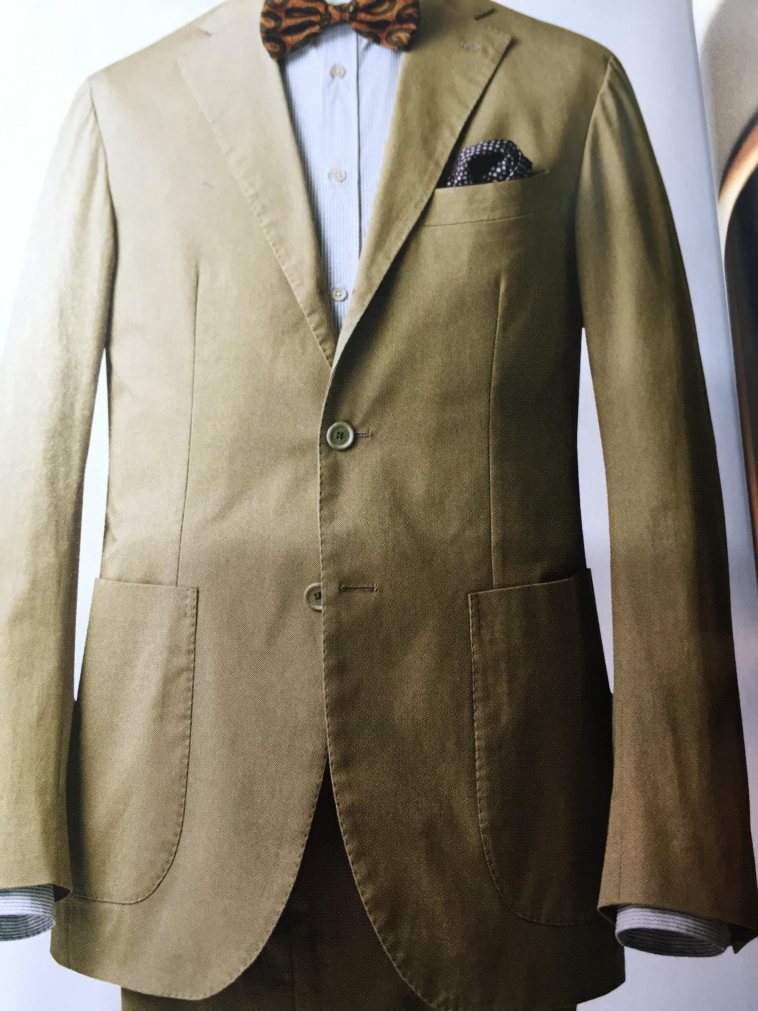 スーツのパーツを覚えておきましょう Vol4