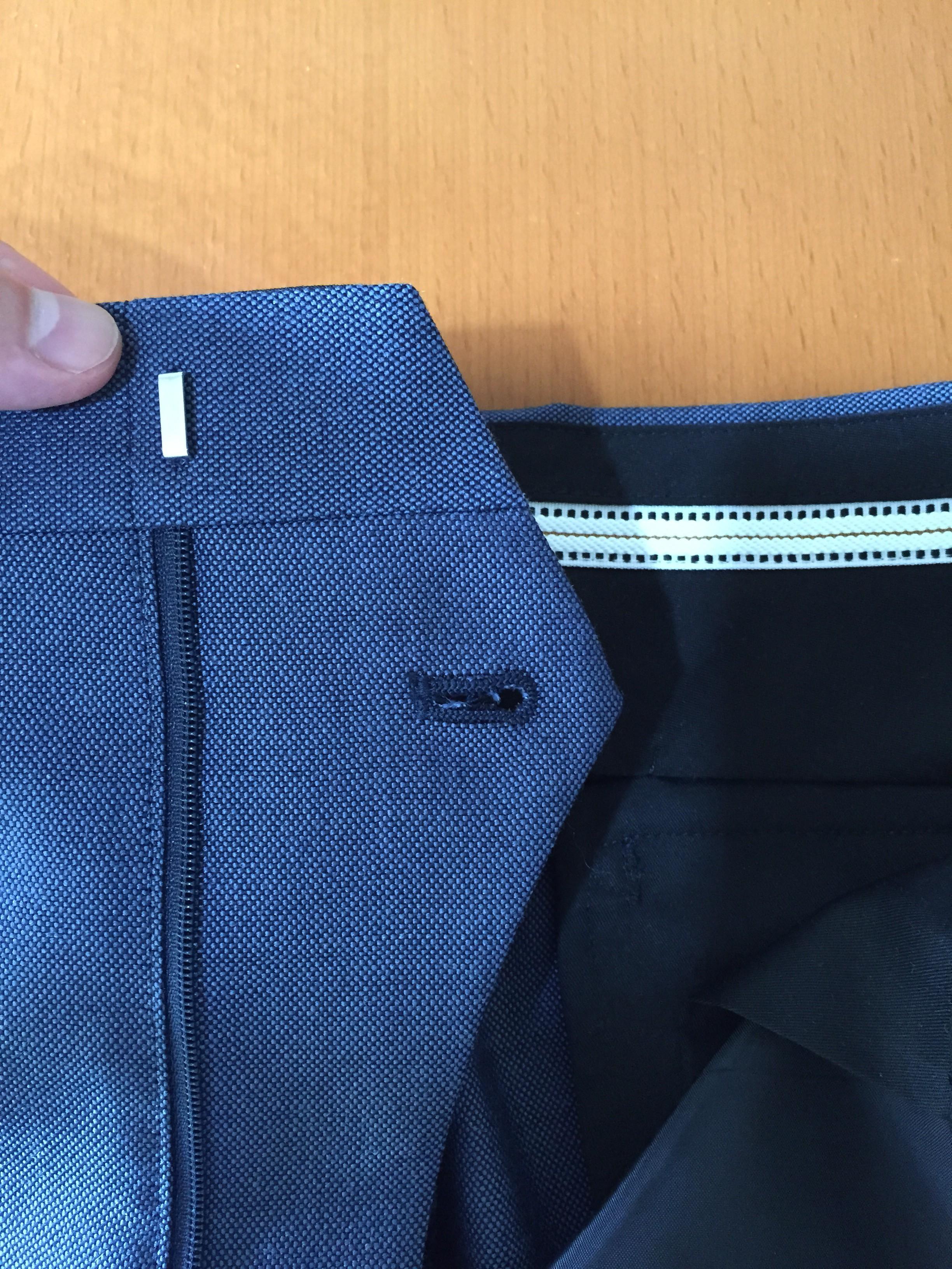 スーツのパーツを覚えておきましょう パンツ編
