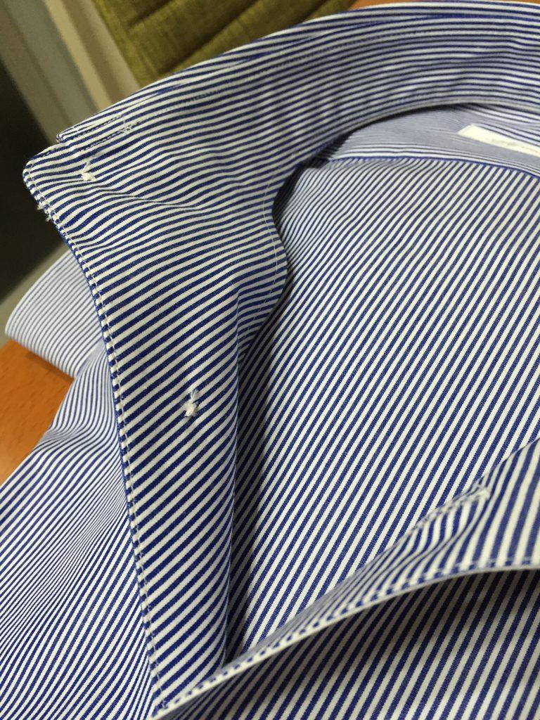 ココアッソのシャツはアイロン掛けがしやすくて快適なんですよ!