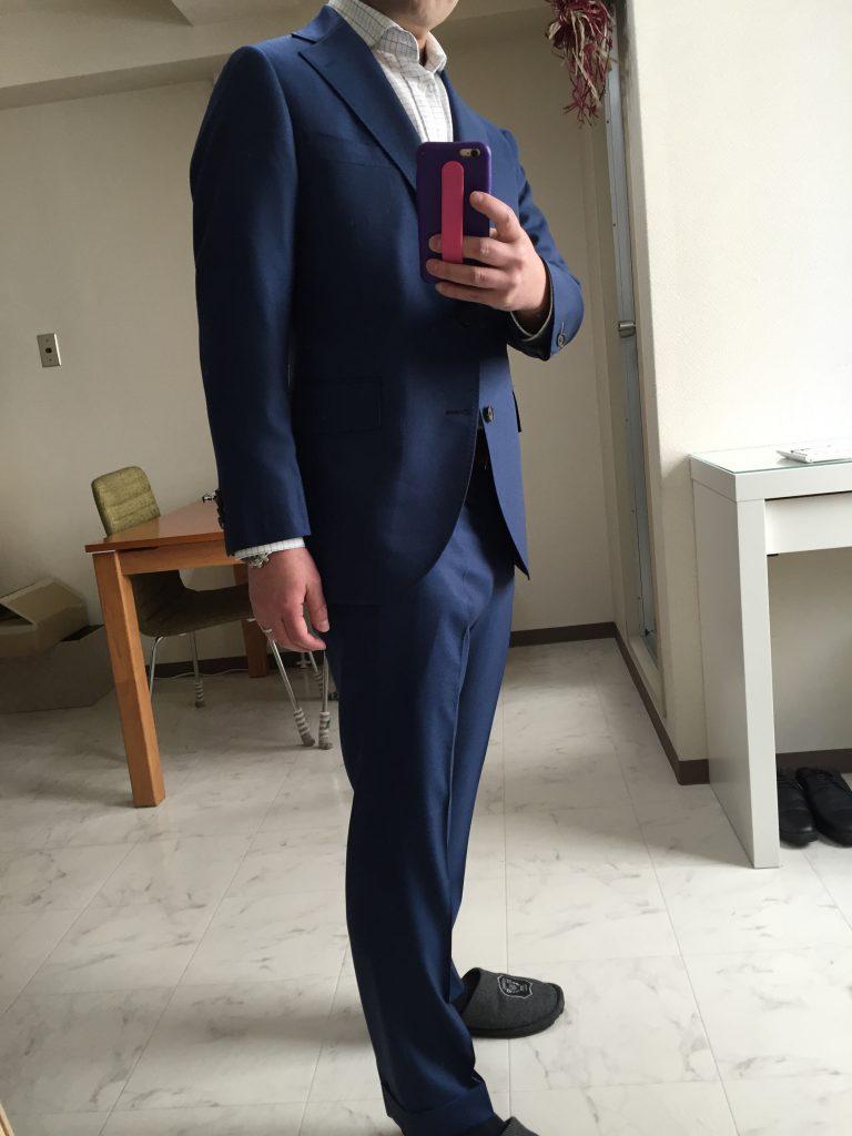 今年、ボクの作ったスーツ 参考にしてみてくださいね!