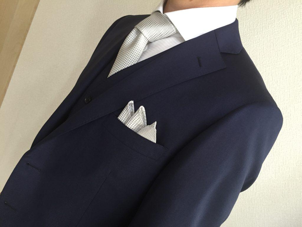 社長からご褒美のスーツ -お客さま紹介-
