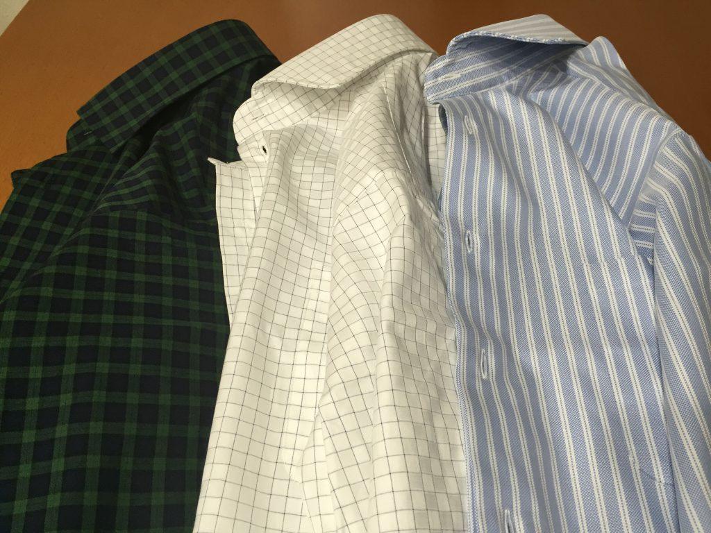 より質感の高いシャツ素材が手に入りました