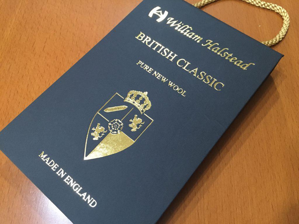 -William Halstead ウィリアムハルステッド- 本物のクラシックな英国生地