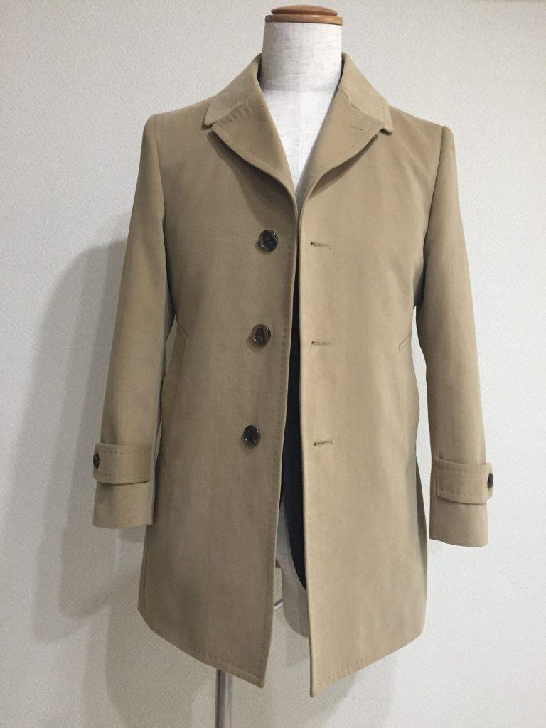 オリジナルコートが完成しました! 軽いコートをお探しなら最適です!