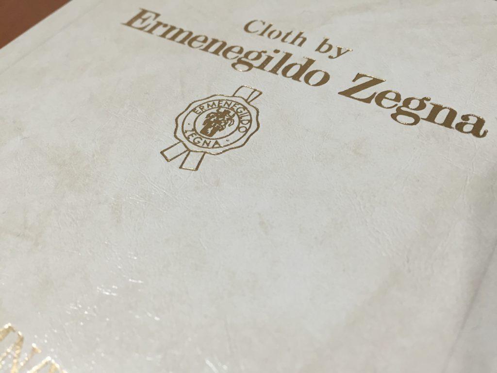 -Ermenegildo Zegna エルメネジルドゼニア- 別注の追加生地が手に入りました