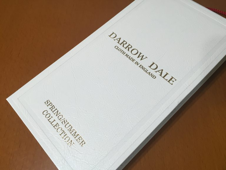 -DARROW DALE ダローデイル- 日本の気候に合う英国生地
