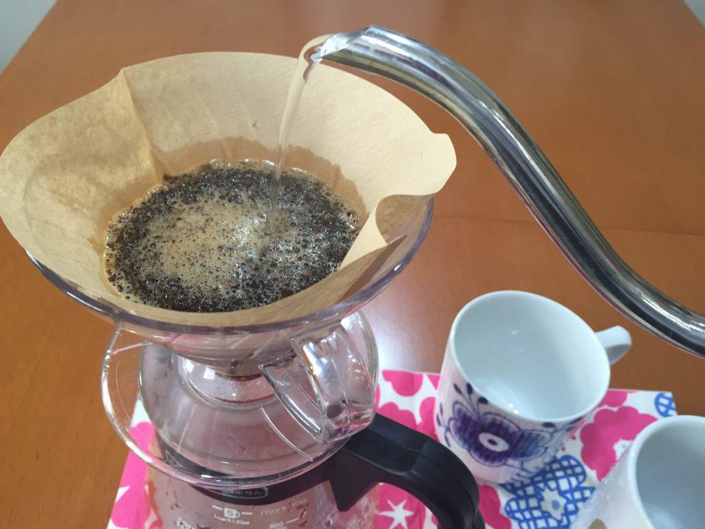 コーヒーはペーパーフィルターで味が結構違いますよ!
