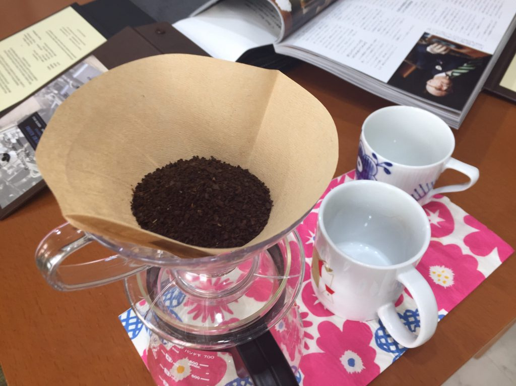 コーヒーを楽しみにしてました!って何よりもうれしいです!