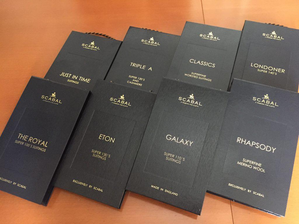 -SCABAL  スキャバル- オーダースーツの世界でNO1のコレクション数を誇る最高の服地