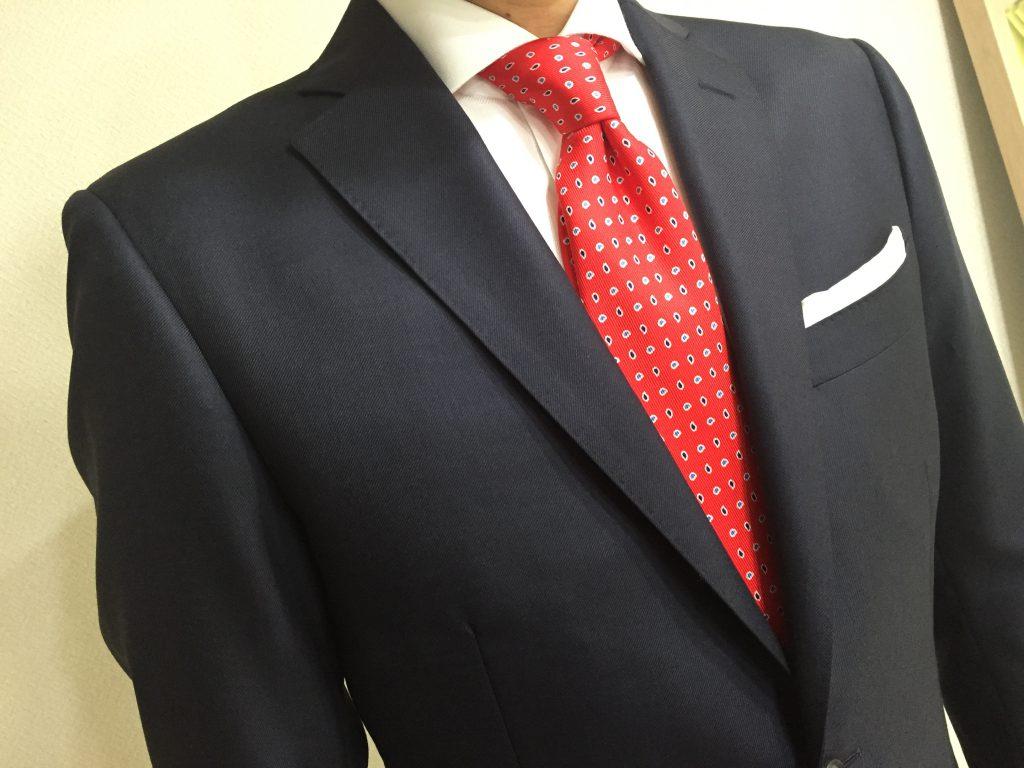 コーヒーよりも今回はスーツの着こなしのお話をさせて頂きました