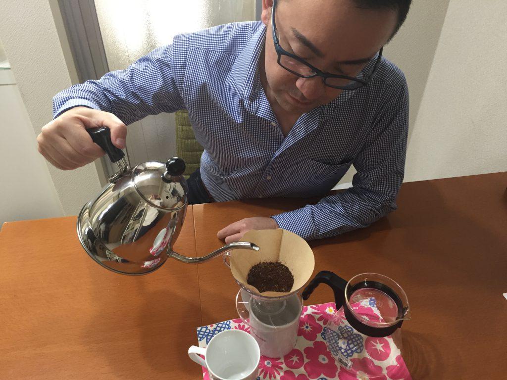 美味しいコーヒー飲んでますか!?