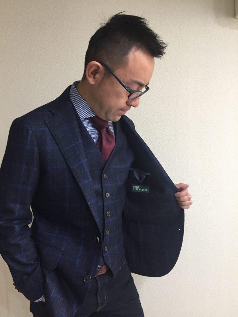 ビジネスの装いはファストファッションではない