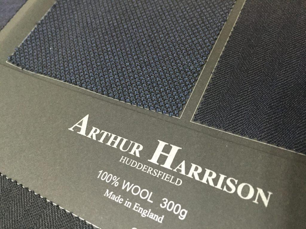 -ARTHER HARRISON アーサーハリソン- 聖地ハダスフィールドの英国織物
