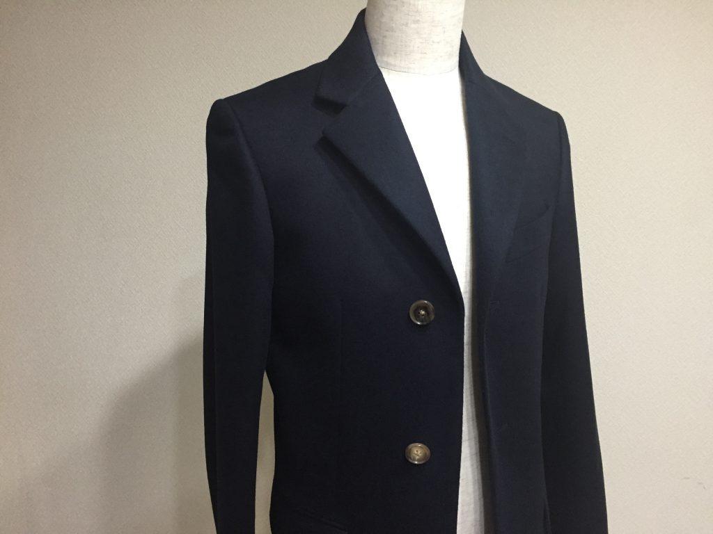 コートにはコートの為のビーバー仕上げという生地があるんですよ!