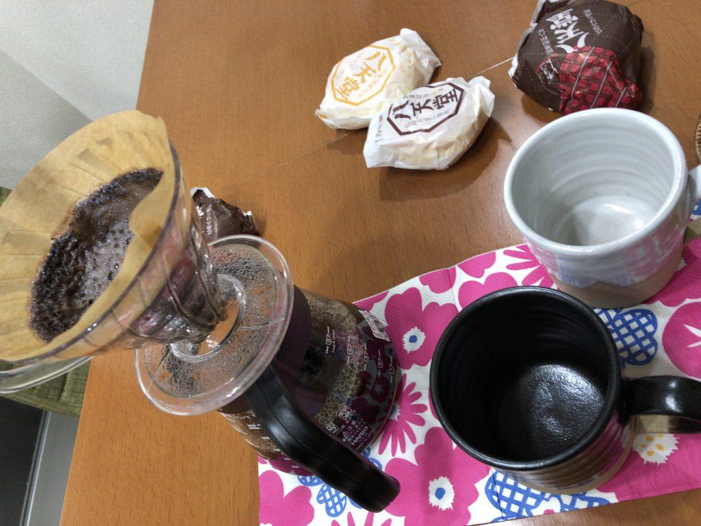コーヒーの差し入れ本当にありがとうございます!