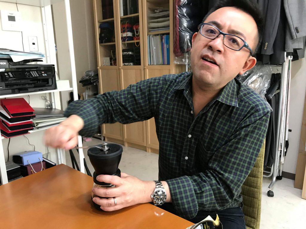 コーヒー豆には挽きやすいのとそうではないのがあるのです