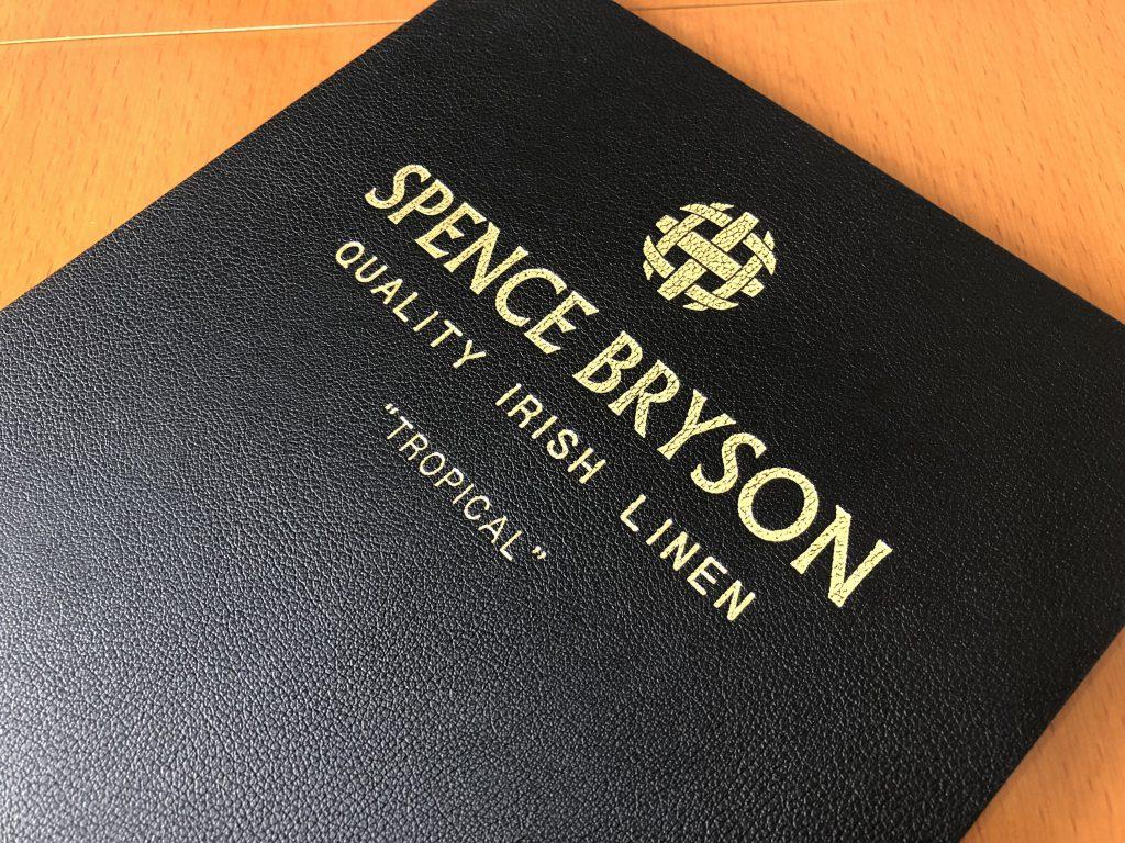 -SPENCE BRYSON スペンスブライソン- アイリッシュリネンで大人なジャケットを仕立てる