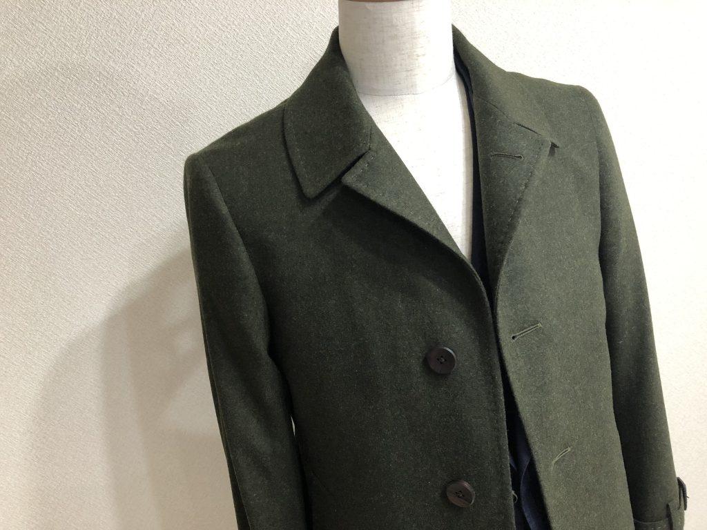 冬本番になる前にコートのご準備をしておいてくださいね