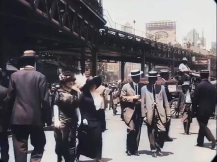1911年のニューヨークを納めた貴重なフィルムに見る装いの大切さ