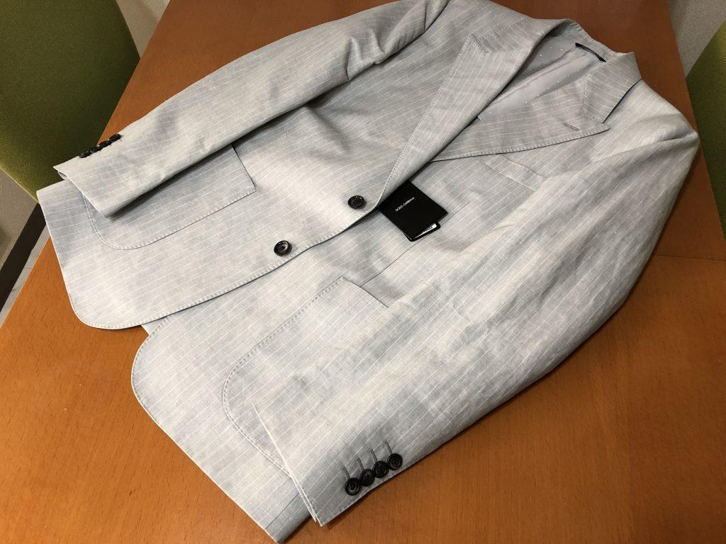 ジャケットの袖詰めのお直しの後残りがない方法があります