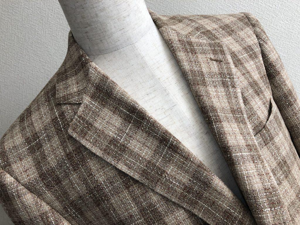 ジャケットを羽織る習慣は忘れないようにしてくださいね