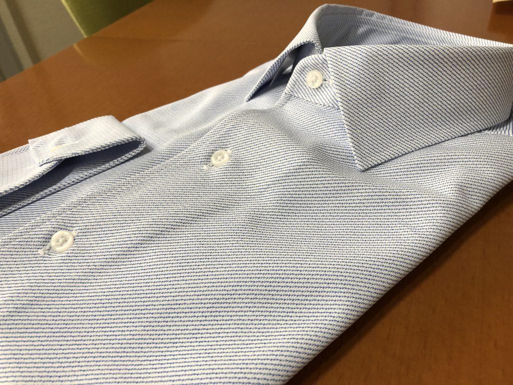 超快適ストレッチオーダードレスシャツがオススメ