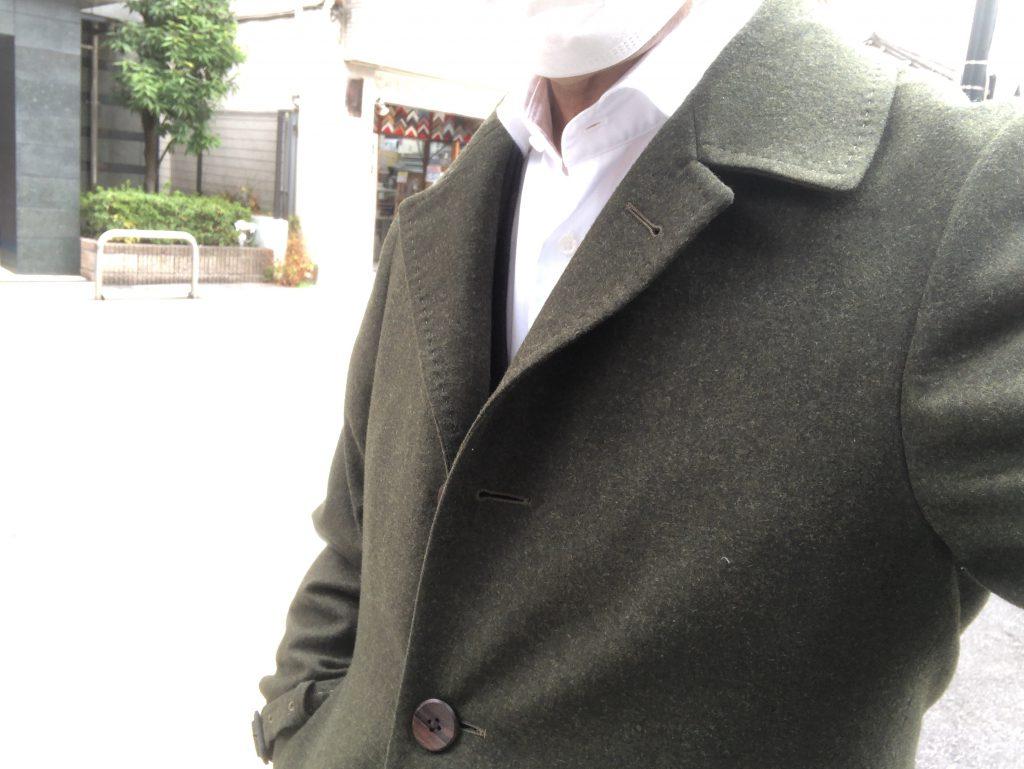 ビジネスパーソンにはウールコートがお似合いです!