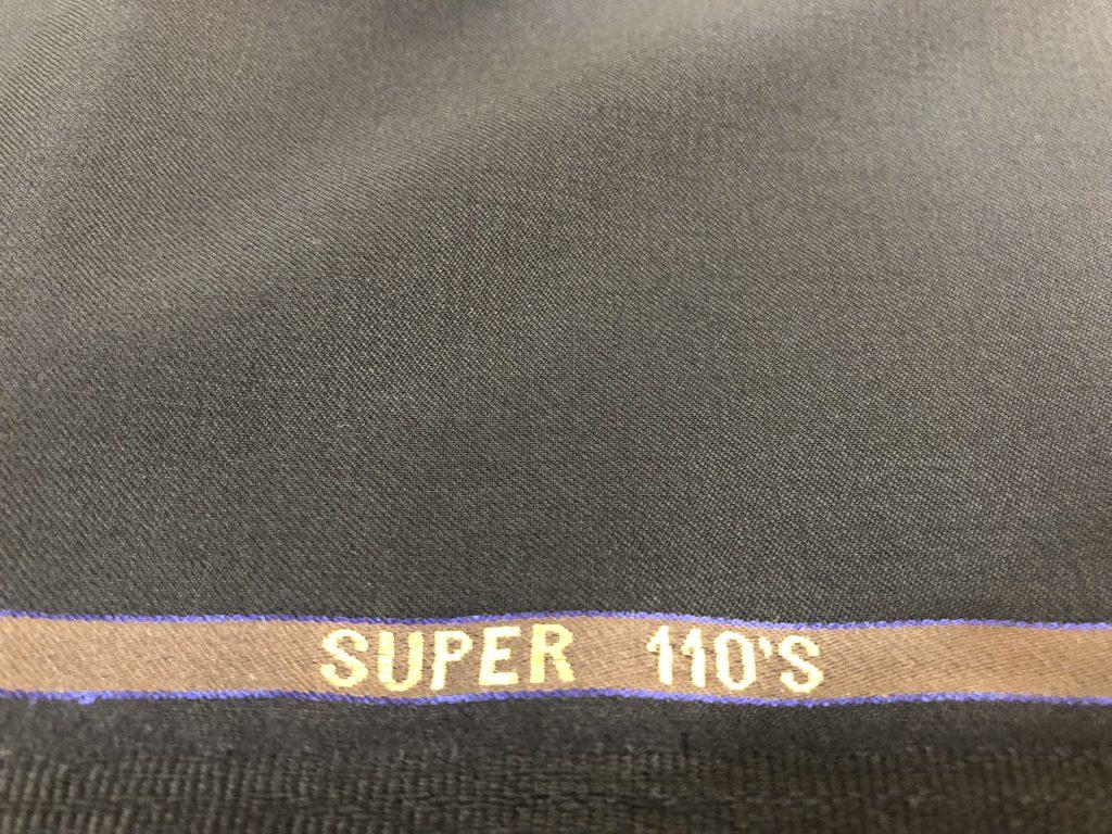 スーツの生地の良し悪しはSuper表記だけじゃありません