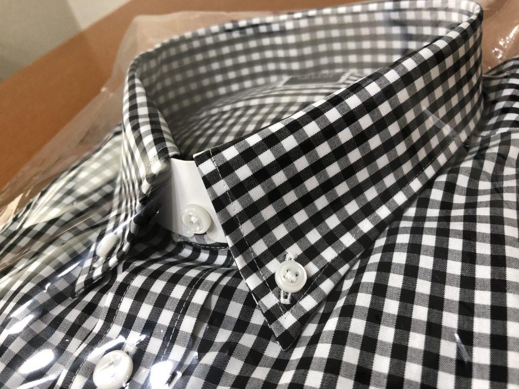 半袖シャツならボタンダウンが有効です!
