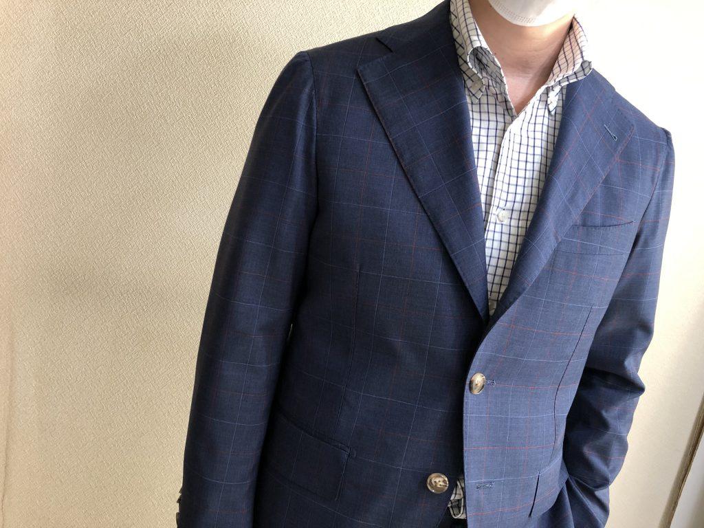 スーツへの愛がハンパないTさまの逸品